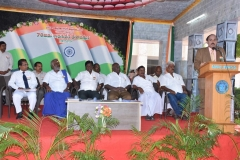 15.08.16 70TH INDEPENDENCE DAY CELEBRATION - PROF. DR. MUTHUCHELIAN, FORMAR VICE CHANCELLOR,PERIYAR UNIVERSITY & HEAD & CHAIR PERSON SCHOOL OF ENERGY, ENVIRONMENT & NATURAL RESOURCES, MKU