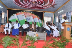 15.08.2016 70 TH INDEPENDENCE DAY CELEBRATION - MR. P. SURENDRAN, SECRETARY GIVING WELCOME ADDRESS