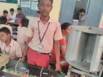 DISTRICT LEVEL SCIENCE EXHIBITION - 15.10.2016 - SETHUPATHI HSS - II PRIZE - SELECTED FOR STATE LEVEL SCIENCE EXHIBITION