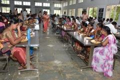 INTER SCHOOL SCIENCE EXHIBITION - PARTICIPANTS TAKING LUNH IN NEW DINING HALL