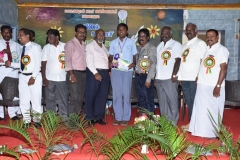 INTER SCHOOL SCIENCE EXHIBITION PRIZE DISTRIBUTION FUNCTION 22.10.2016 - ISRO, GENERAL MANAGER, CHIEF GUEST Mr. S. INGERSONL GIVING I PRIZE(9-10) KERAN PUBLIC SCHOOL