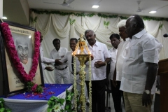 KAMARAJAR 114TH BIRTHDAY COMPETITION 2.7.16 - Lignting lamp by Management Members