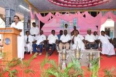 KAMARAJAR 114TH BIRTHDAY COMPETITION PRIZE DISTRUBUTION FUNCTION - 20.07.2016 - Felicitation by Mr. S.K. Mohan, General Secretary, MNU