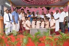 KAMARAJAR 114TH BIRTHDAY COMPETITION PRIZE DISTRUBUTION FUNCTION - 20.07.2016 - Rolling trophy I place - PKN HSS, Thirumangalam