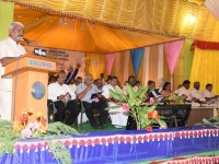 60TH ANNUAL DAY - 26.01.2017 - VICE PRESIDENT Mr. P. KUMAR PRESENTING ANNUAL REPORT