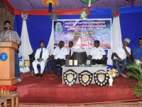 60th ANNUAL SPORTS DAY - CHIEF GUEST Mr. J. NAGARAJAN, INSPECTOR OF POLICE, SPECIAL BRANCH, MADURAI GIVING SPECIAL ADDRESS