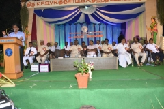 61st ANNUAL DAY - 05.01.2018 -CHIEF GUEST Mr. S. BALAJI, THASILTHAR, MADURAI WEST GIVING SPECIAL ADDRESS