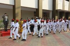 69th Republic Day Celebration - 26.01.2018 - Guard of Honour by JRC boys