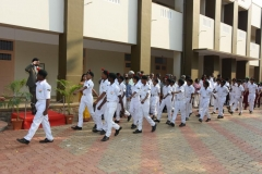 69th Republic Day Celebration - 26.01.2018 - Guard of Honour by NCC Naval Wing boys