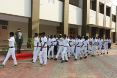 69th Republic Day Celebration - 26.01.2018 - Guard of Honour by NSS boys