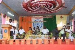 69th Republic Day Celebration - 26.01.2018 - Presidential address by School president Mr. S. Selvaraj