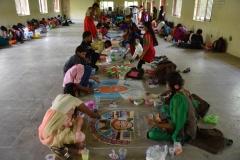 KAMARAJAR 115TH BIRTHDAY COMPETITION 8.7.2017 RANGOLI