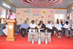 KAMARAJAR 115TH BIRTHDAY COMPETITION PRIZE DISTRIBUTION FUNCTION - 19.07.2017 - ESI Joint Director, Mr. R Tineshkumar giving special address