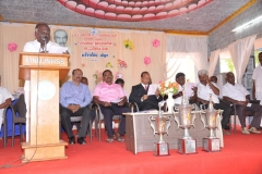 KAMARAJAR 115TH BIRTHDAY COMPETITION PRIZE DISTRIBUTION FUNCTION - 19.07.2017 -Secretary Mr. P. Surendran giving Welcome Address