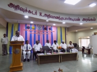 61ST SPORTS DAY PRIZE DISTRIBUTION FUNCTION 22.03.2018 - SECRETARY Mr P. SURENDRAN GIVING SPECIAL ADDRESS