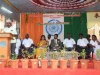 69th Republic Day Celebration - 26.01.2018 - Felicitation by Vice President Mr. P. Kumar