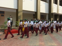 69th Republic Day Celebration - 26.01.2018 - Guard of Honour by NGC boys