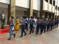 69th Republic Day Celebration - 26.01.2018 - Guard of Honour by Scout Boys