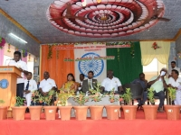 69th Republic Day Celebration - 26.01.2018 - Presidential address by School president Mr. S. Selvaraj