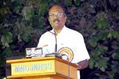 62ND ANNUAL DAY 10.01.2019 - Mr ILASAI SUNDARAM PRESENTING THE SPECIAL ADDRESS