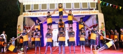 62ND ANNUAL DAY 10.01.2019 - PYRAMID BY STUDENTS