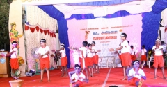 62ND ANNUAL DAY 10.01.2019 - YOGA BY STUDENTS