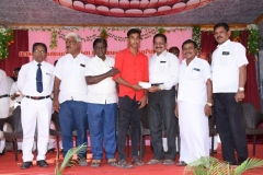 62ND SPORTS DAY PRIZE DISTRIBUTION FUNCTION - 28.03.2019 - PRIZE GIVEN TO WINNER