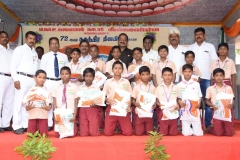 72ND INDEPENDANCE DAY 15.08.2018 - FREE UNIFORM GIVEN TO STUDENTS