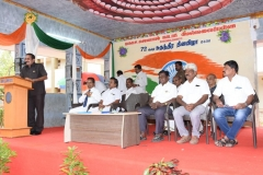 72ND INDEPENDANCE DAY 15.08.2018 - Mr P. DHARMARAJ, PRESIDENT GIVING PRESIDENTIAL AND WELCOME ADDRESS