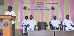 KAMARAJAR 116TH BIRTHDAY COMPETITION - 07.07.2018 - SCHOOL PRESIDENT MR. S. SELVARAJ GIVING PRESIDENTIAL ADDRESS