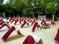YOGA DAY 21.06.2018 - NCC AIR WING