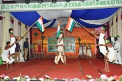 07.01.2016 – 59th Annual Day – Cultural Event – National Song