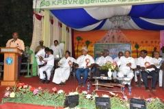 07.01.2016 – 59th Annual Day – Mr. J.R. Jayanth, grand son of Mr. S.G.Jayaraj Nadar addressing the gathering