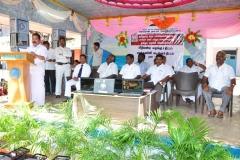 07.10.2015 - Free Laptop & Cycle Distribution Function - Chief Guest Mr. J. Raja, AIADMK Treasurer, Madurai District & President, Pandian Co operative Society, Madurai
