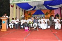 08.01.2016 – KPSVD HOSTEL - 59th Hostel Day – Mr. C. Baskaran, Hostel Secretary giving the welcome address