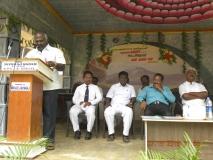 15.07.2015 - Kamarajar Birthday Celebration - Mr P. Surendran, Secratary, MNUJNHSS