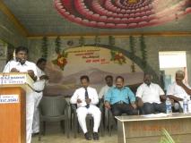 15.07.2015 - Kamarajar Birthday Celebration - Mr S. Selvaraj, Vice President, MNUJNHSS