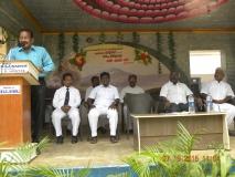 15.07.2015 - Kamarajar Birthday Celebration - Presidential address - Mr P. Dharmaraj, President, MNUJNHSS
