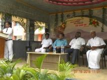 15.07.2015 - Kamarajar Birthday Celebration - Welcome address - Mr D. Ramesh, HM, MNUJNHSS