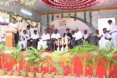 24.07.2015 - Kamarajar 113th Birthday Competition Prize Distribution Function - Presidential Address - Mr P. Dharmaraj, President, MNUJNHSS