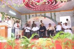 24.07.2015 - Kamarajar 113th Birthday Competition Prize Distribution Function - Vote of Thanks - Mr D. Ramesh, Headmaster, MNUJNHSS