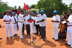 59 TH SPORTS DAY - 16.10.2015 INAUGURAL FUNCTION - LIGHTING THE OLYMPIC TOURCH