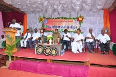 59 TH SPORTS DAY - 16.10.2015 PRIZE DISTRIBUTION FUNCTION - SECRETARY MR. P. SURENDRAN GIVING WELCOME ADDRESS