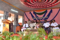 67th Republic Day – 26.01.2016 – Managing Director, SGJ Solar Power PVT. LTD., & Grand son of Mr. S.G. Jayaraj Nadar felicitating the gathering