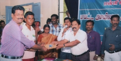 Tamilnadu Science and Technology Centre, Chennai -  Inspire Award - Madurai District Level Science Exhibition III Prize