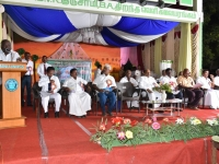 07.01.2016 – 59th Annual Day – Mr. P. Surendran, Secretary giving the welcome address