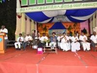 08.01.2016 – KPSVD HOSTEL - 59th Hostel Day – Mr. P.Surendran, Hostel President giving the presidential address