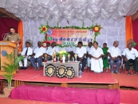 59 TH SPORTS DAY - 16.10.2015 PRIZE DISTRIBUTION FUNCTION - CHIEF GUEST MR . P. SUGUMAR, INSPECTOR OF POLICE, NAGAMALAI STATION (H8) ADDRESSING THE GATHERING