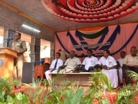 67th Republic Day – 26.01.2016 – Chief Guest - Assistant Commissioner of Police, Madurai - Dr. A. Manivannan, M.A., M.L., Ph.D., addressing the gathering