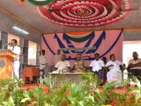 67th Republic Day – 26.01.2016 – Headmaster, Mr. D. Ramesh, giving the vote of thanks